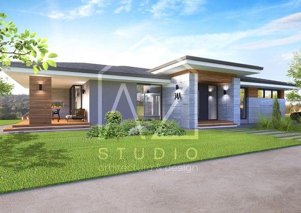 Casa moderna parter 177mp
