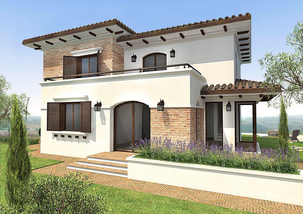 Casa mediteraneana cu etaj 230mp