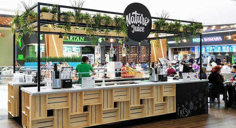 Proiect HORECA - Fresh Bar insular in centru comercial