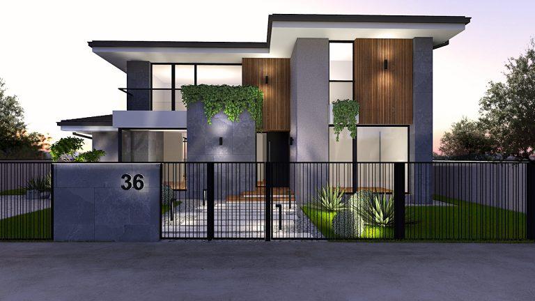 Casa moderna cu etaj 228mp
